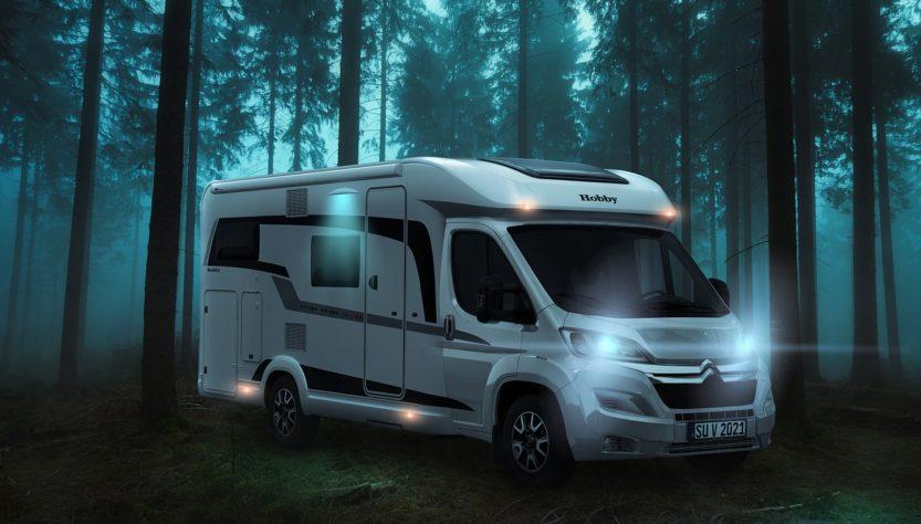 Camper Mobile Home Camping Van  - _freakwave_ / Pixabay