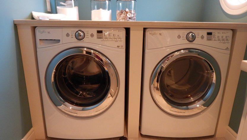 Washing Machine Dryer Laundry  - ErikaWittlieb / Pixabay